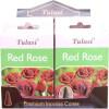 Cônes d'encens Tulasi rose rouge.
