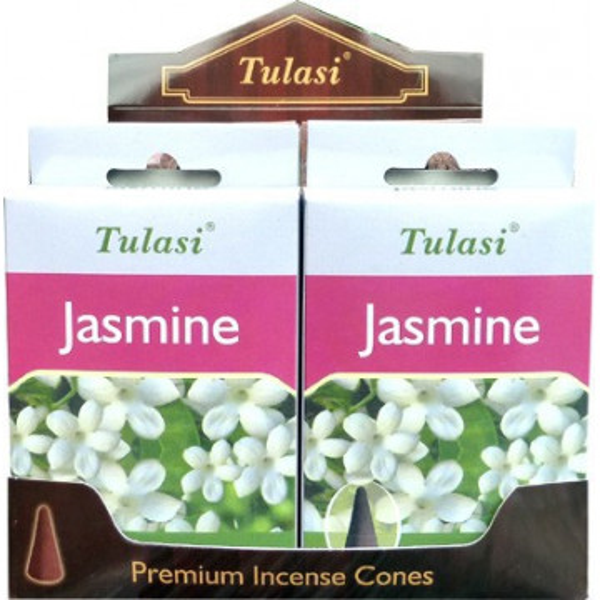 Cônes jasmin encens Tulasi