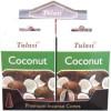 Cônes d'encens Tulasi noix de coco