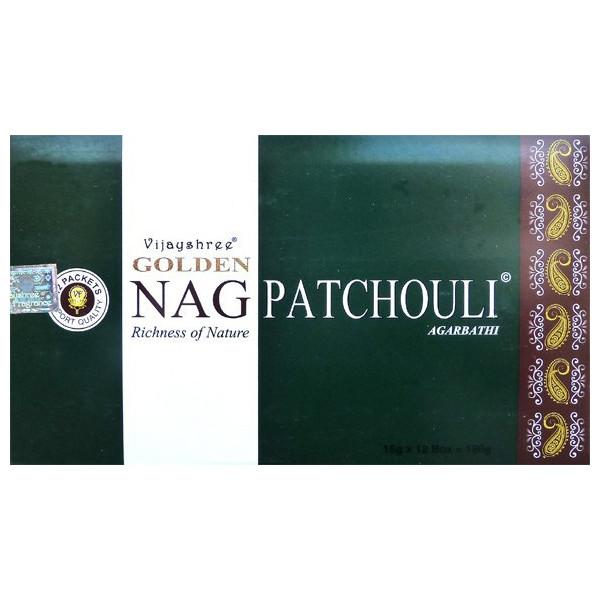 Golden nag patchouli - encens en sticks