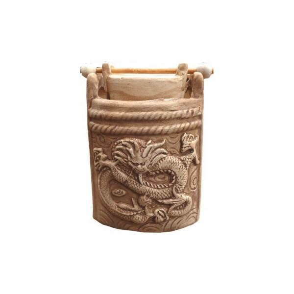 Brûle huile motif de dragon