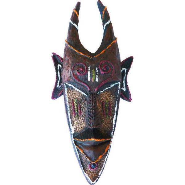 Masque décoratif cornes