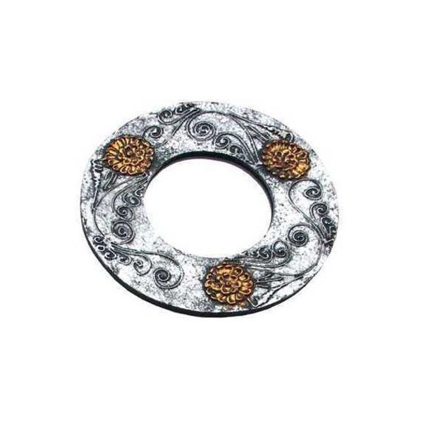 Gold und Silber dekorativer Spiegel