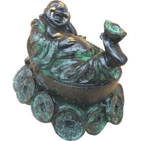 bouddha couché en résine