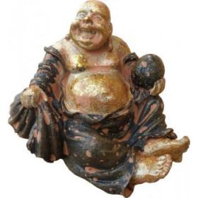 bouddha rieur résine