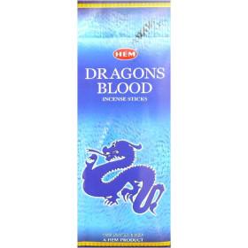 Encens hem sang de dragons bleu hexa 20g.