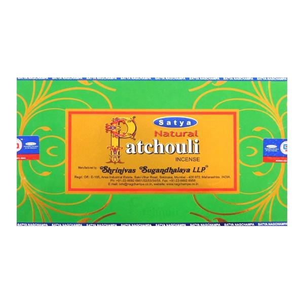 Encens bâtons Satya natural patchouli 15 g