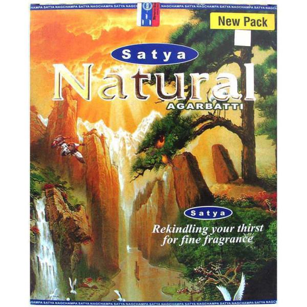 Encens batons satya natural 45 gr