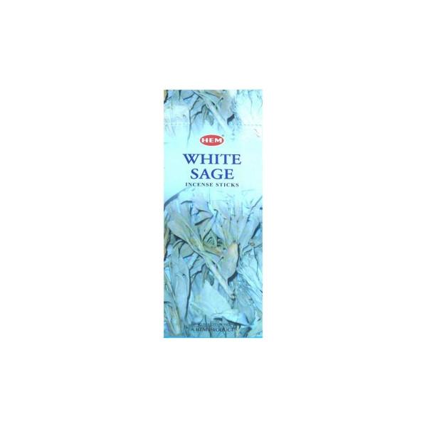 Encens hem sauge blanche 20 grammes.