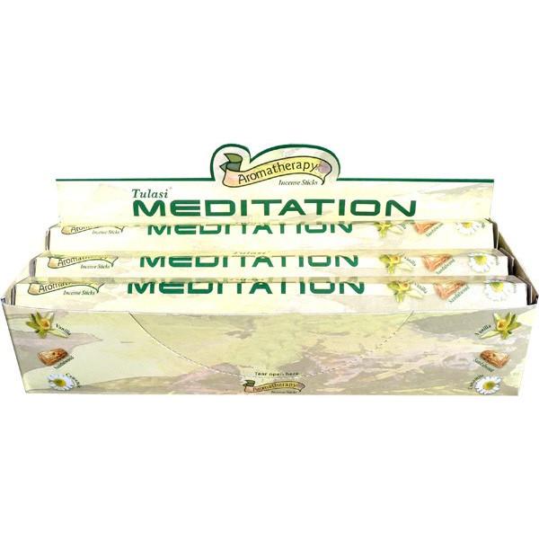 Boite d'encens tulasi méditation 20gr.