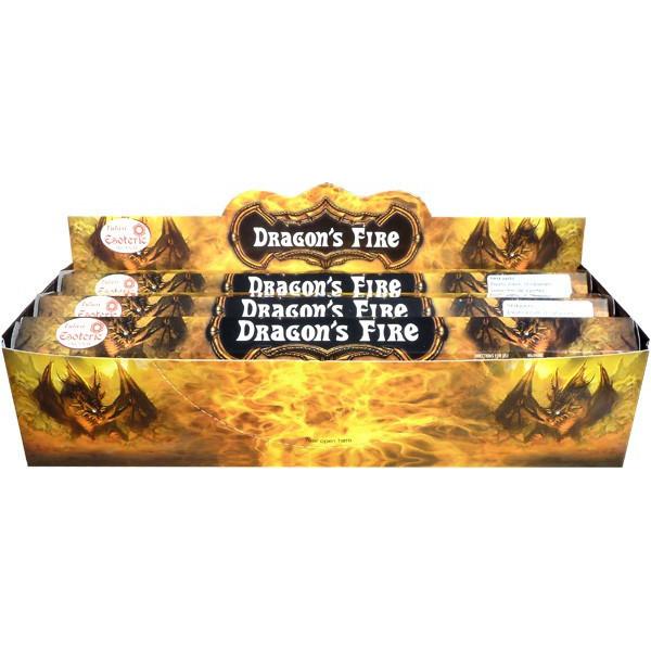 Boite d'encens tulasi feu de dragon 20gr.