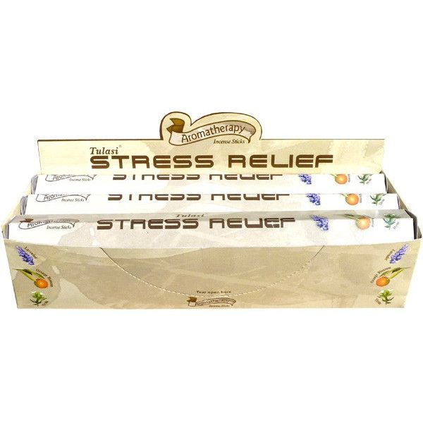 Boite d'encens tulasi stress relief 20gr.
