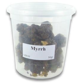 Encens résine myrrhe