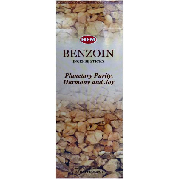 Benjoin encens batons Hem 10 gr