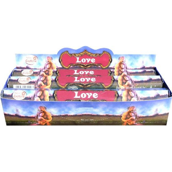 Boite d'encens tulasi love amour 20gr.