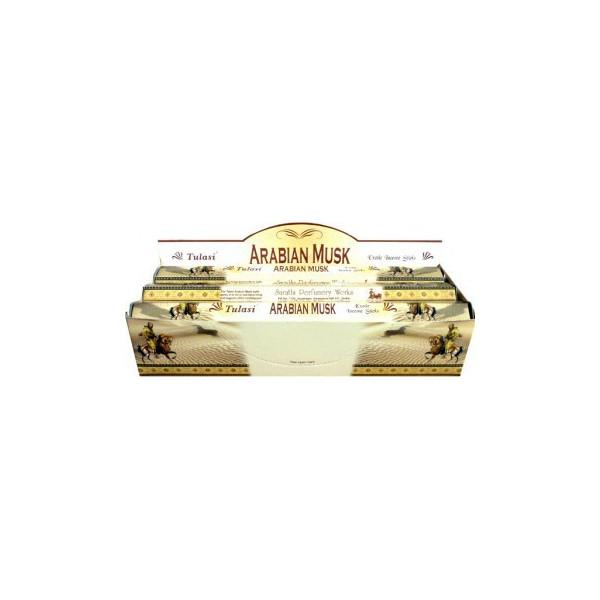 Boite d'encens tulasi arabian musk 20gr.