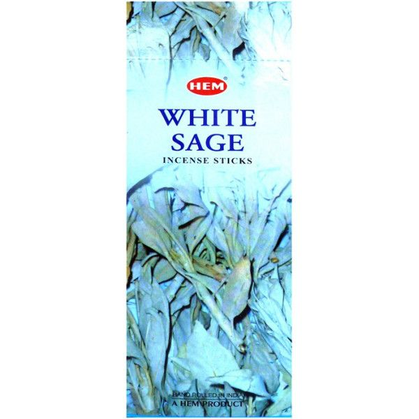Encens hem sauge blanche 10 grammes.
