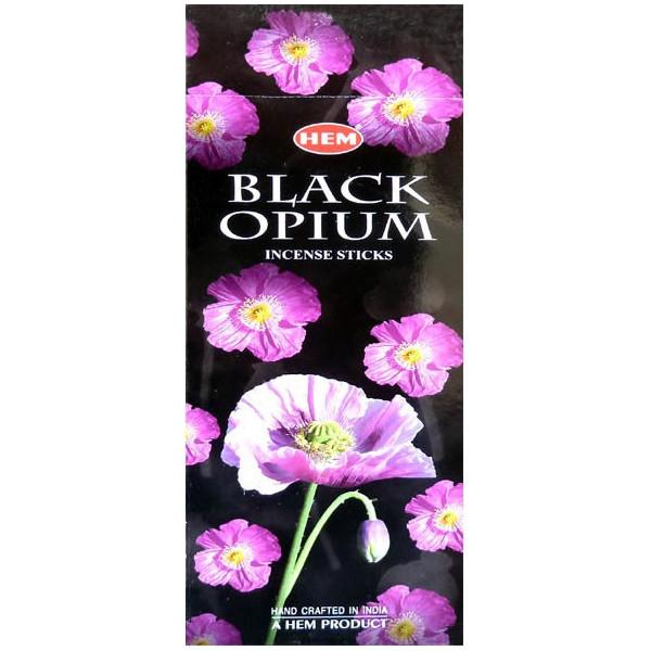 Weihrauchsaum schwarzes Opium 10 Gramm.