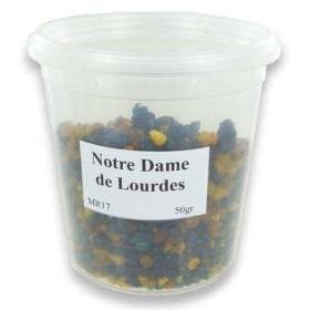 Encens résine en grains Notre Dame de Lourdes