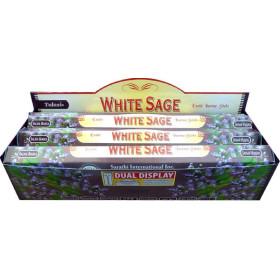 Boite d'encens tulasi sauge blanche 20gr.