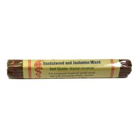 Räucherstäbchen aus nepalesischem Sandelholz und Jasmin