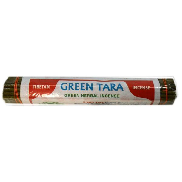 Nepalesische Räucherstäbchen Green Tara