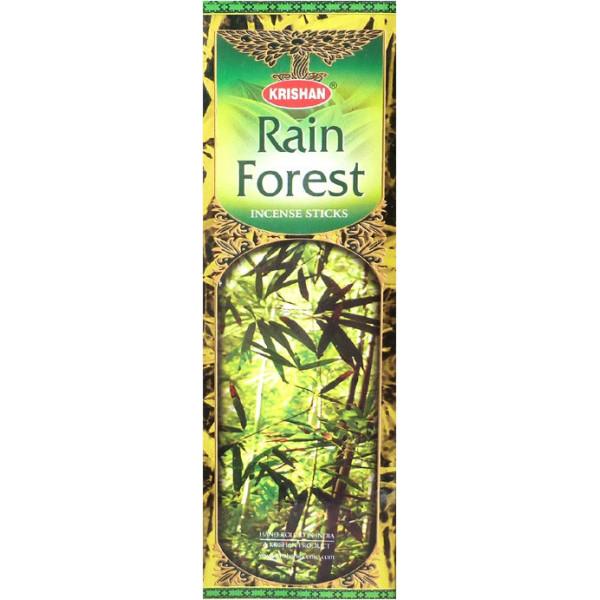 Boite d'encens krishan rain forest