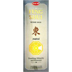 Encens bâtons hem feng shui élément Métal 20 grammes.