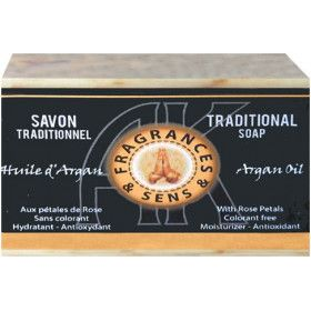Savon huile d'argan 100 grammes.