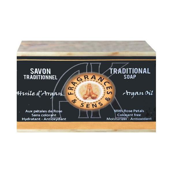 Savon à l'huile d'argan 100 grammes.