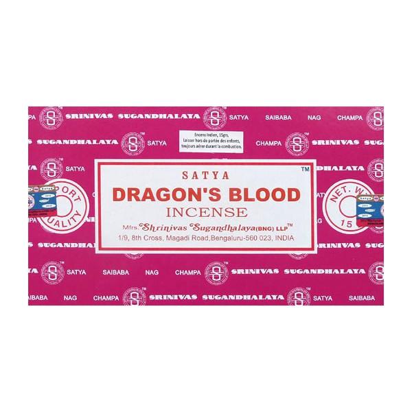 Encens batons satya sang de dragon 15g.