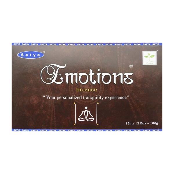 Weihrauch klebt Satya Emotionen 15g.