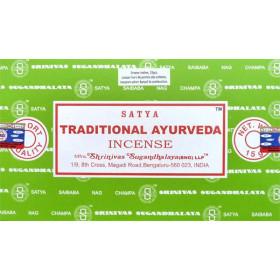 Encens batons satya ayurvéda traditionnel 15g.