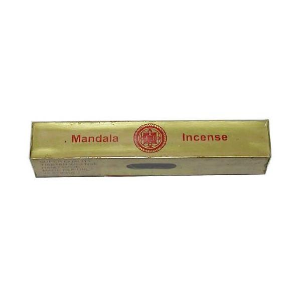 Encens bâtons Népalais Mandala or