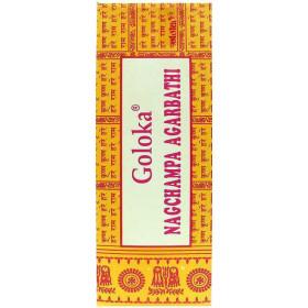 Goloka encens - boite de batons d'encens 10 gr