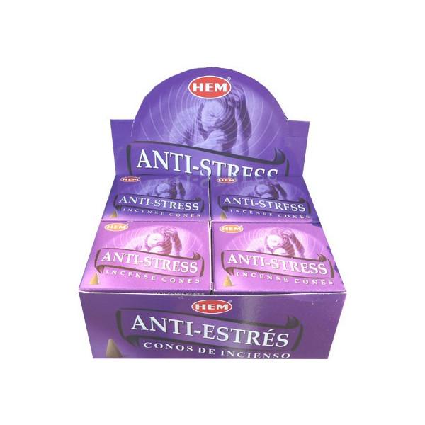Encens cônes hem anti-stress
