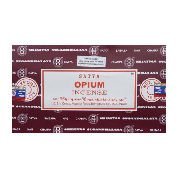 Encens batons satya opium 15g.