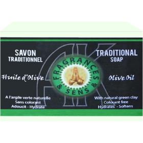 Savon huile d'olive 100 grammes.