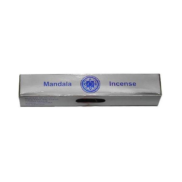 Encens bâtons Népalais Mandala argent