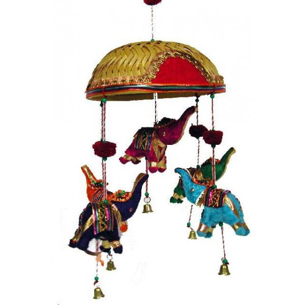 Mobile manège éléphants