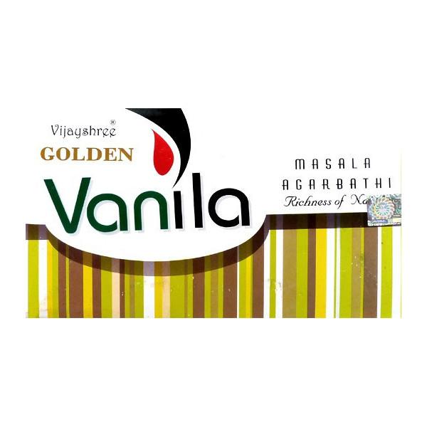 Räucherstäbchen goldene Vanille 15g