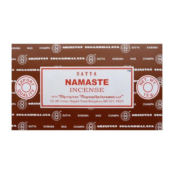 Räucherstäbchen Satya Namaste 15g.