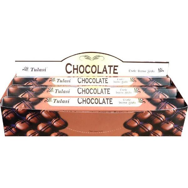 Schachtel Weihrauch Tulasi Schokolade 20gr.