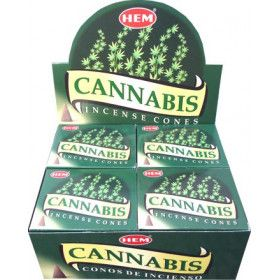 Encens cônes hem cannabis