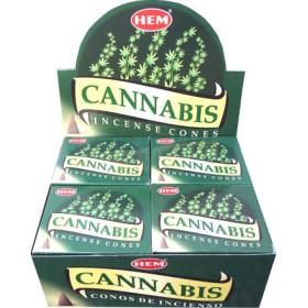 Weihrauchkegel hem Cannabis