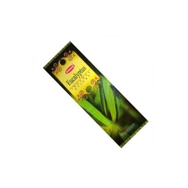 pack de 25 boites d'encens batons krishan eucalyptus