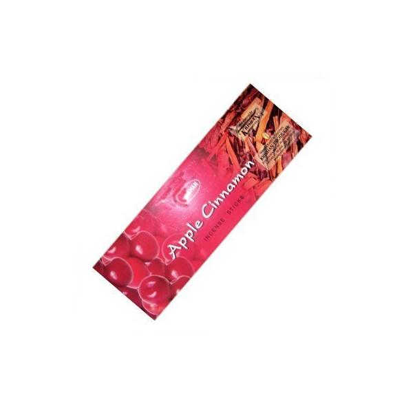 pack de 25 boites d'encens batons pomme cannelle