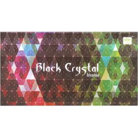 Encens batons satya black crystal 15g.
