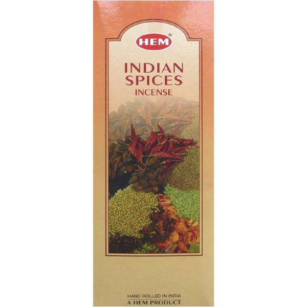 Encens hem épices indiennes 20 grammes.