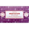 Encens bâtons satya méditation 15g.